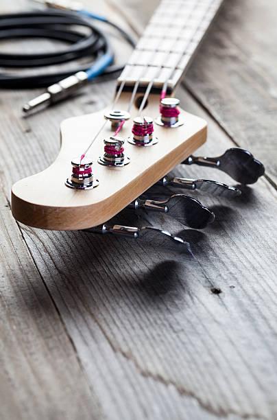 Guitar Headstock stock photo