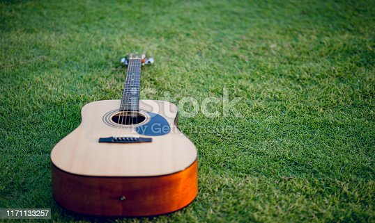 1014432572 istock photo Guitar instrument Of professional guitarists Musical instrument concept For entertainment 1171133257