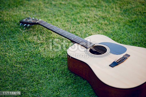 1014432572 istock photo Guitar instrument Of professional guitarists Musical instrument concept For entertainment 1171133270
