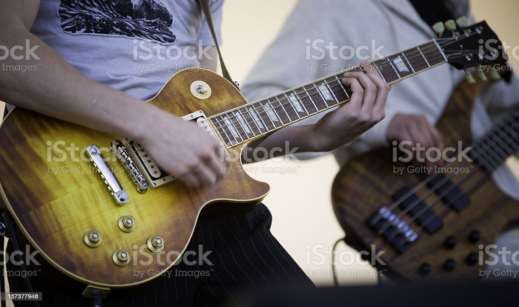 Guitar Lead royalty-free stock photo