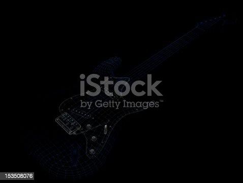 istock Guitar model 153508076