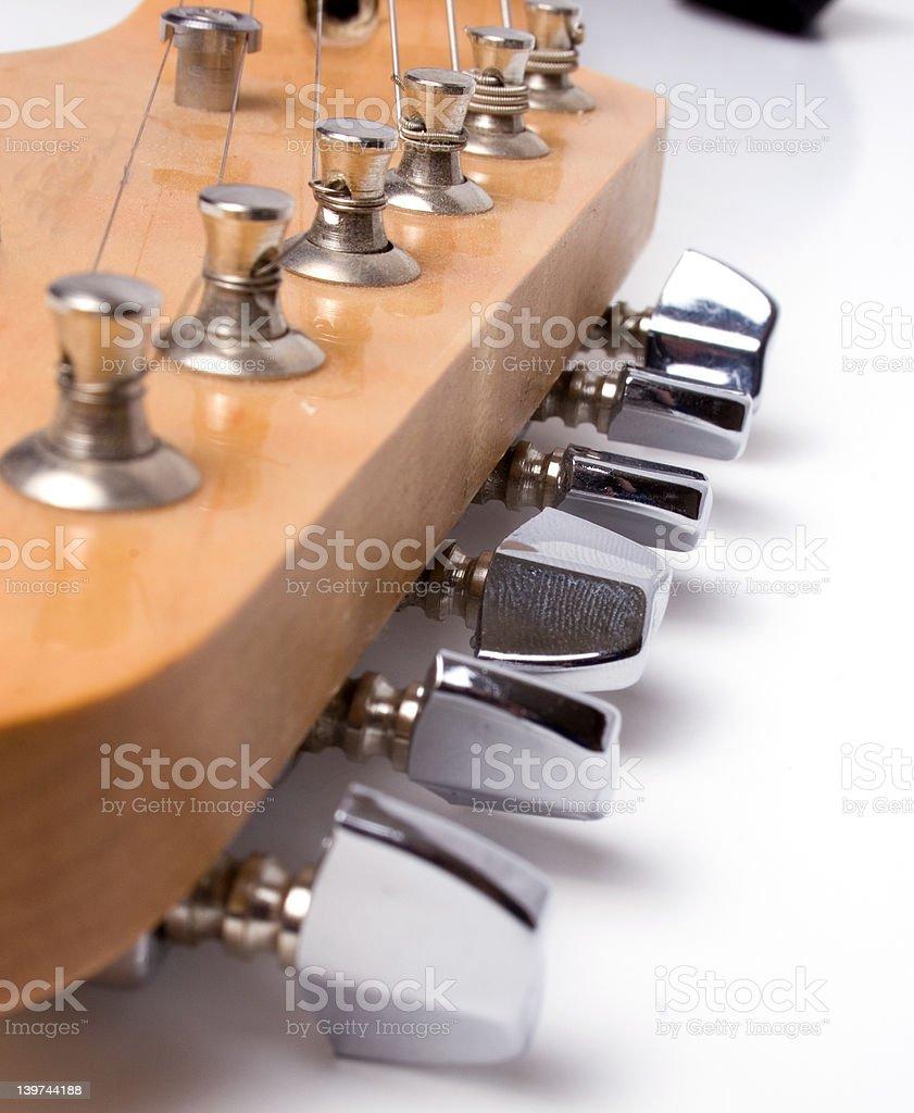 guitar neck royalty-free stock photo