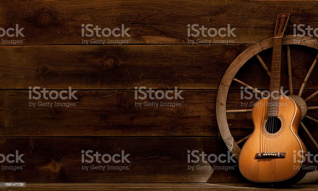 Guitar stock photo