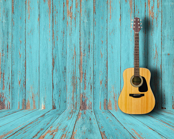 guitar - country fashion stock photos and pictures