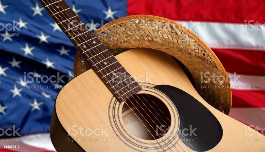 Guitar. stock photo