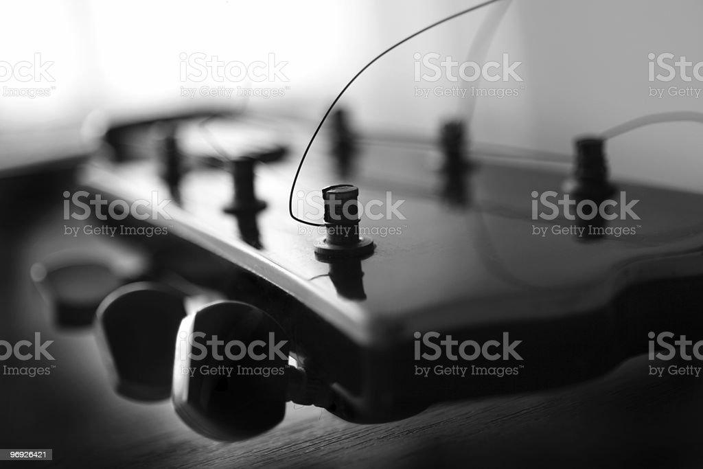Guitar royalty-free stock photo