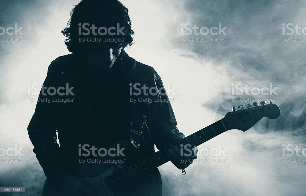 Gitarrenspieler  – Foto
