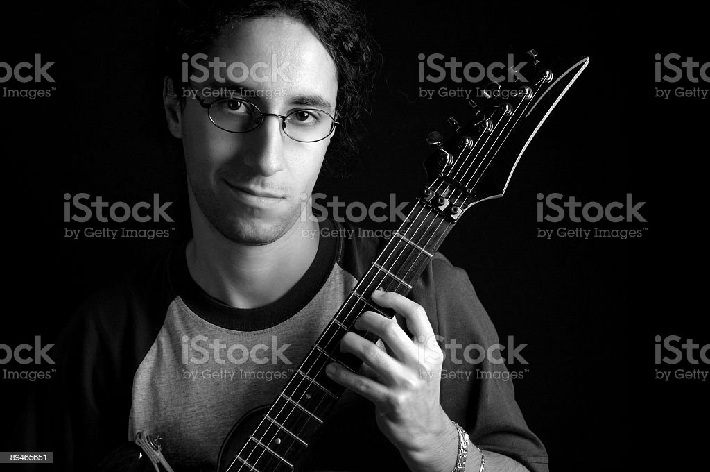 Guitar Player 免版稅 stock photo