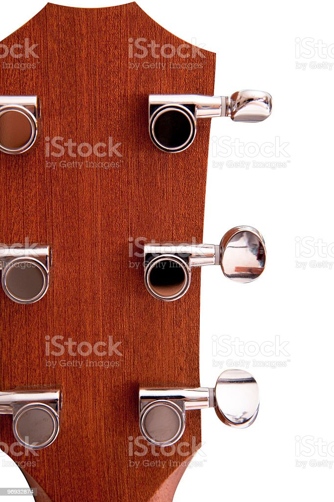 Guitar tuners royalty-free stock photo