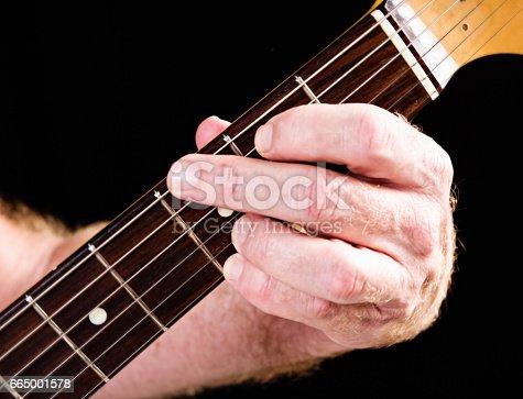 Guitar Tutorial G Major Chord Fourfinger Version On Electric Guitar ...
