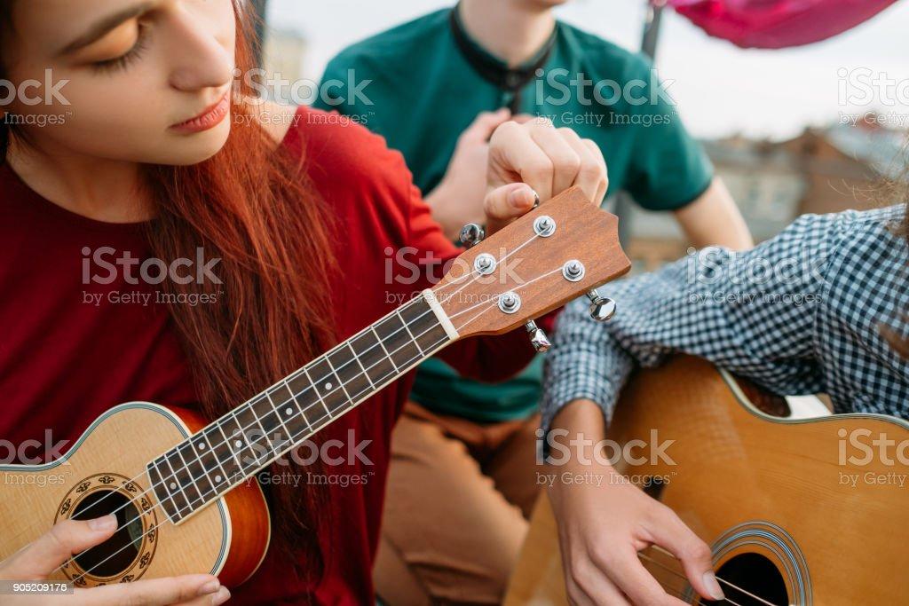 Gitarre Ukulele String Instrument Musik Kultur Kunst – Foto