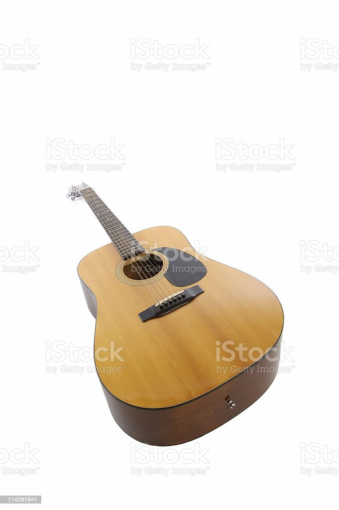 Guitar V1... royalty-free stock photo