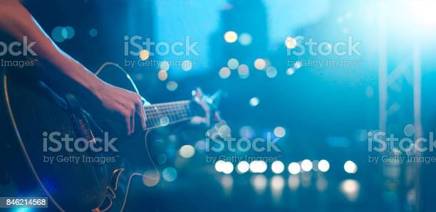 Guitarist on stage for background soft and blur concept picture id846214568?b=1&k=6&m=846214568&s=612x612&h=vxxtbjlxza7kfswxkoqpdb5xkf6fq2gxh 8qqpctlii=