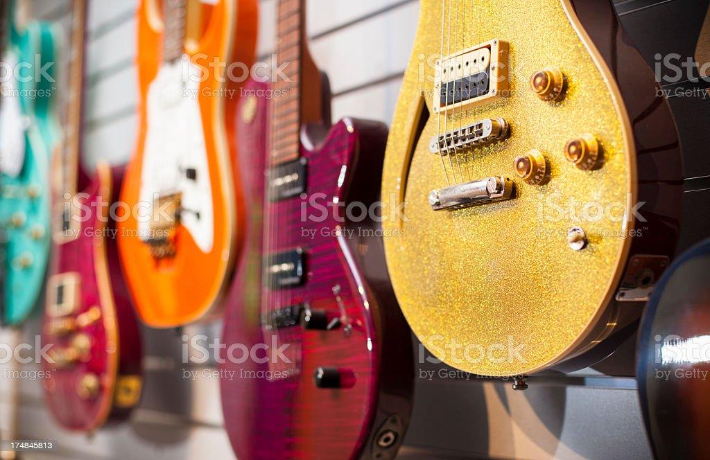 Guitars royalty-free stock photo