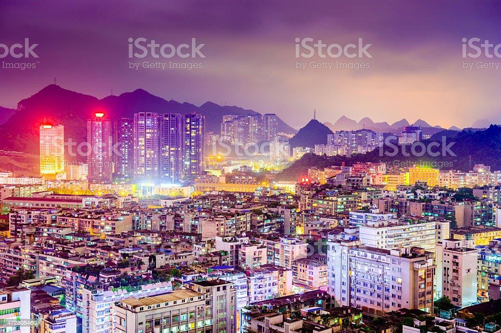Guiyang China Cityscape stock photo