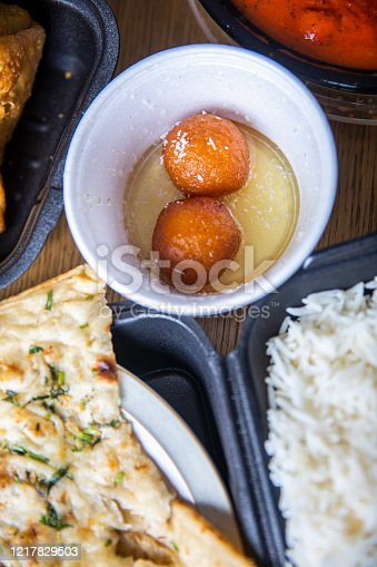 istock Gulab Jamun for Indian Food Celebration for Ramadan 1217829503
