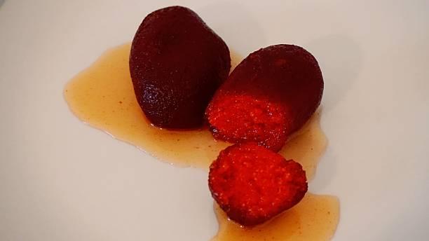 Gulabjamun Indian Sweet stock photo