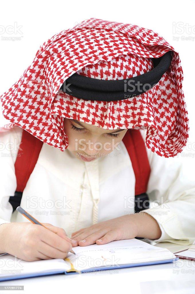 Gulf Arabic School Kid Stock Photo - Download Image Now - iStock