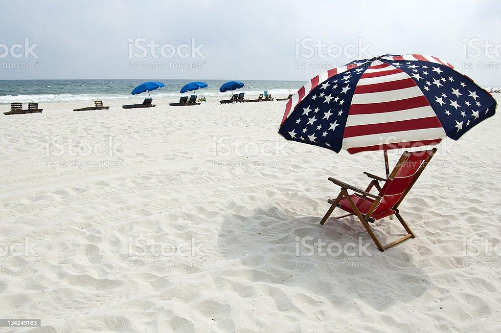 Gulf Coast Beach stock photo