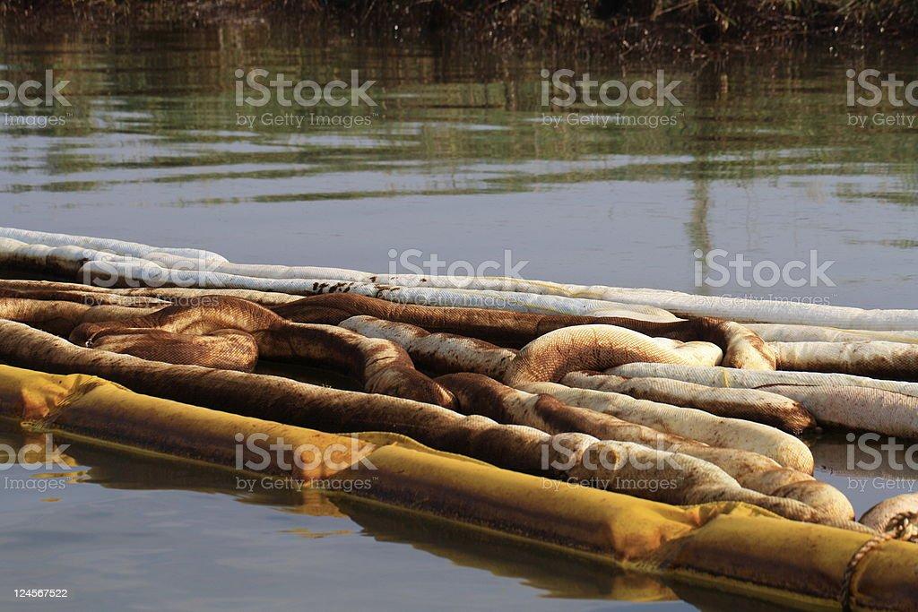 Gulf Coast oil spill royalty-free stock photo