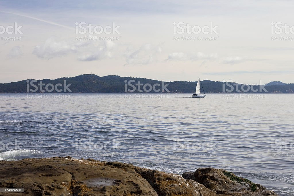 Gulf Islands stock photo