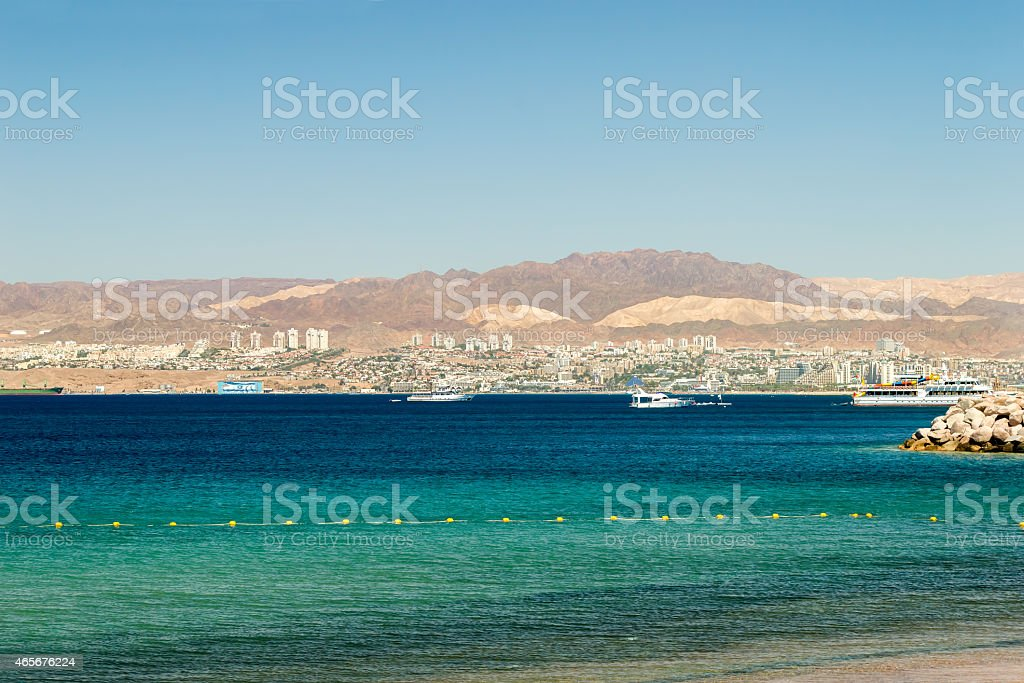 Gulf of Aqaba stock photo