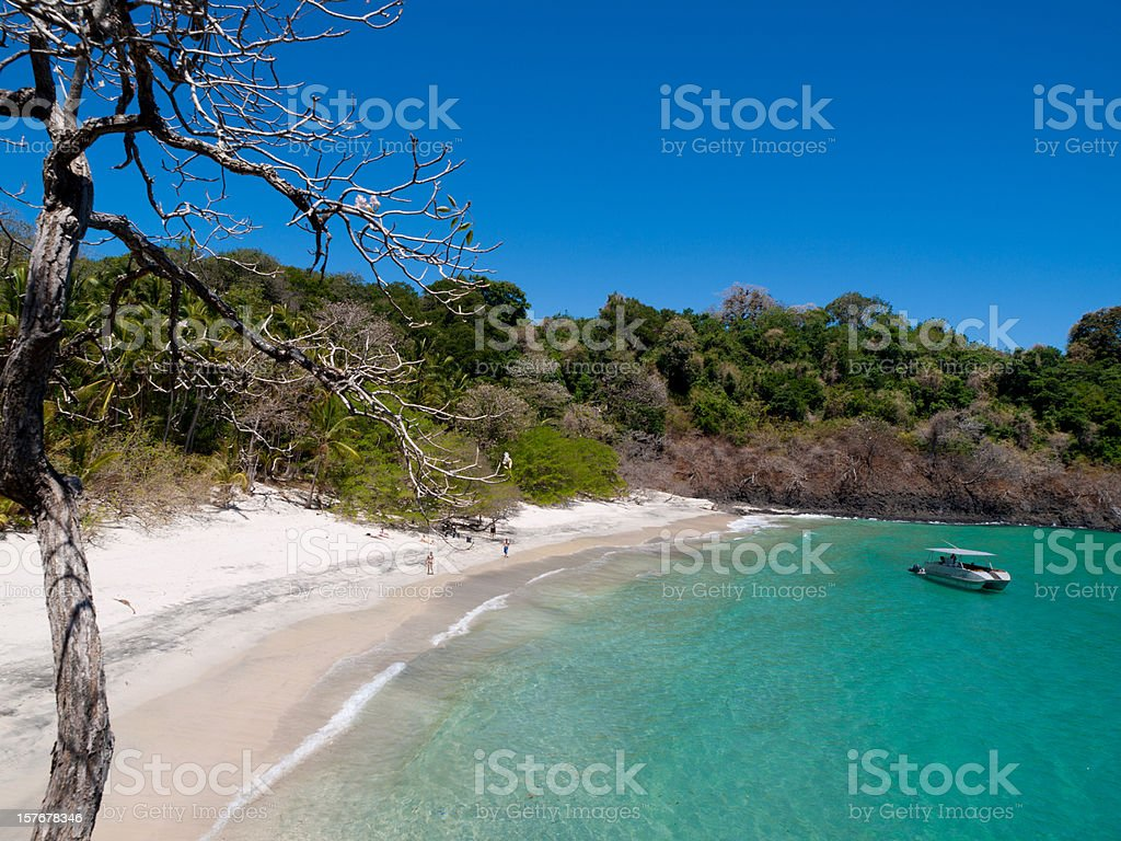 Parque Nacional Marino Golfo de Chiriqu royalty-free stock photo