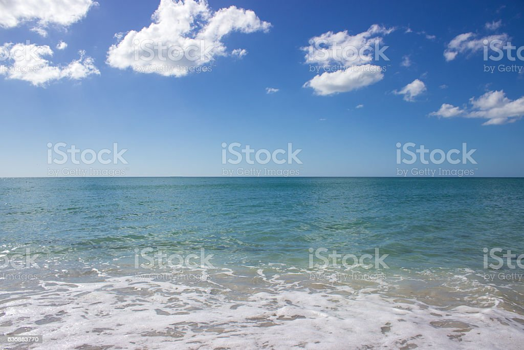 Gulf of Mexico on Sunny Day stock photo