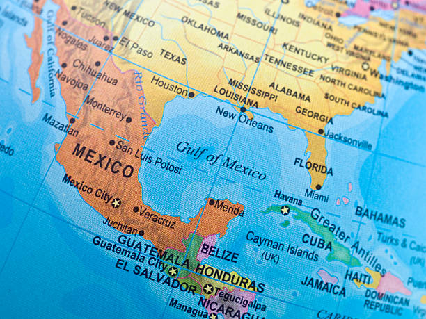 Top Gulf Coast States Map Stock Photos, Pictures and Images - iStock