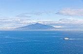 Gulf of Naples and Mount Vesuvius, Italy