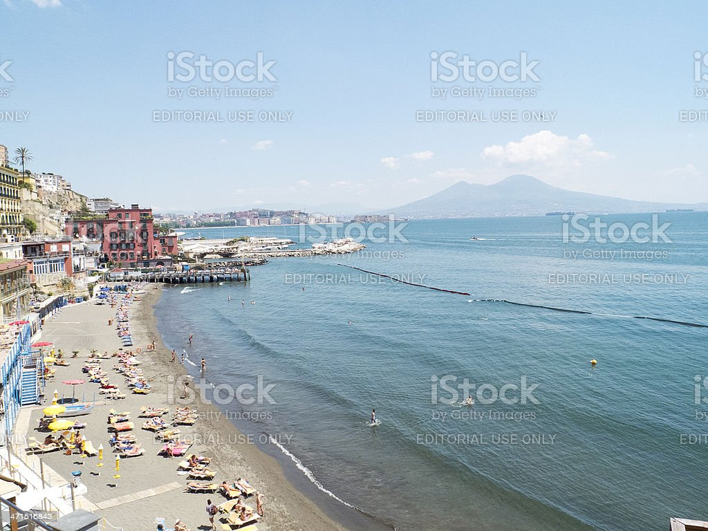 Gulf of Naples royalty-free stock photo