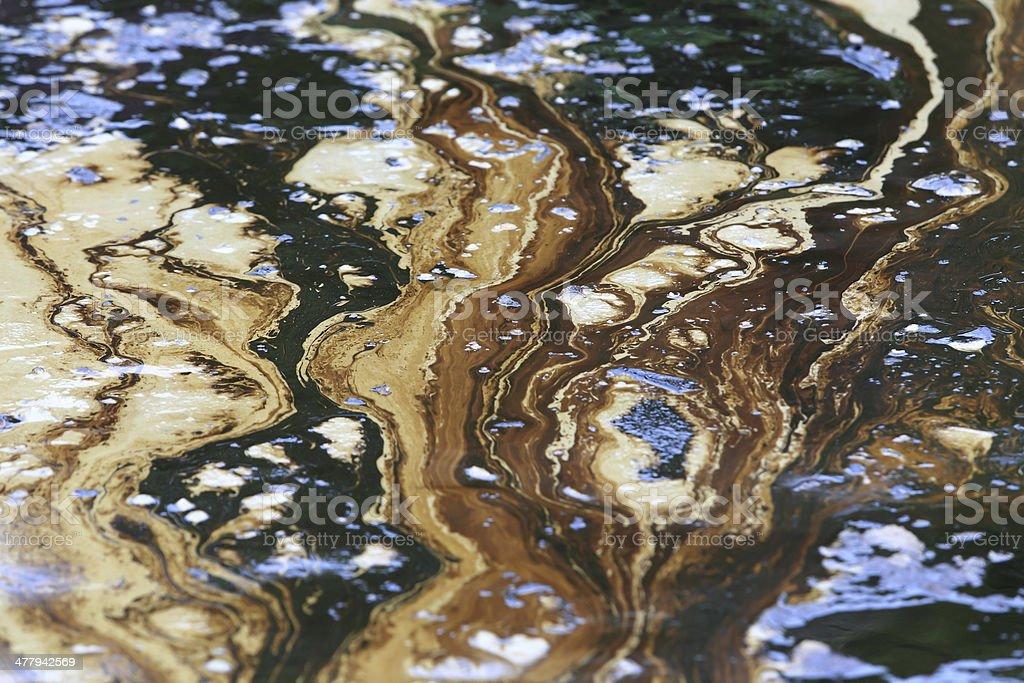 Der Ölverschmutzung im Golf ist auf einem Strand – Foto