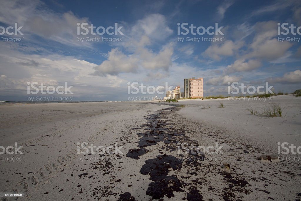Gulf Oil Spill royalty-free stock photo