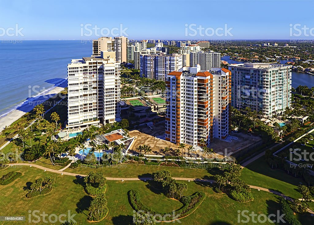 Gulf Shore Living stock photo