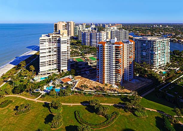 Gulf Shore Living stock photo