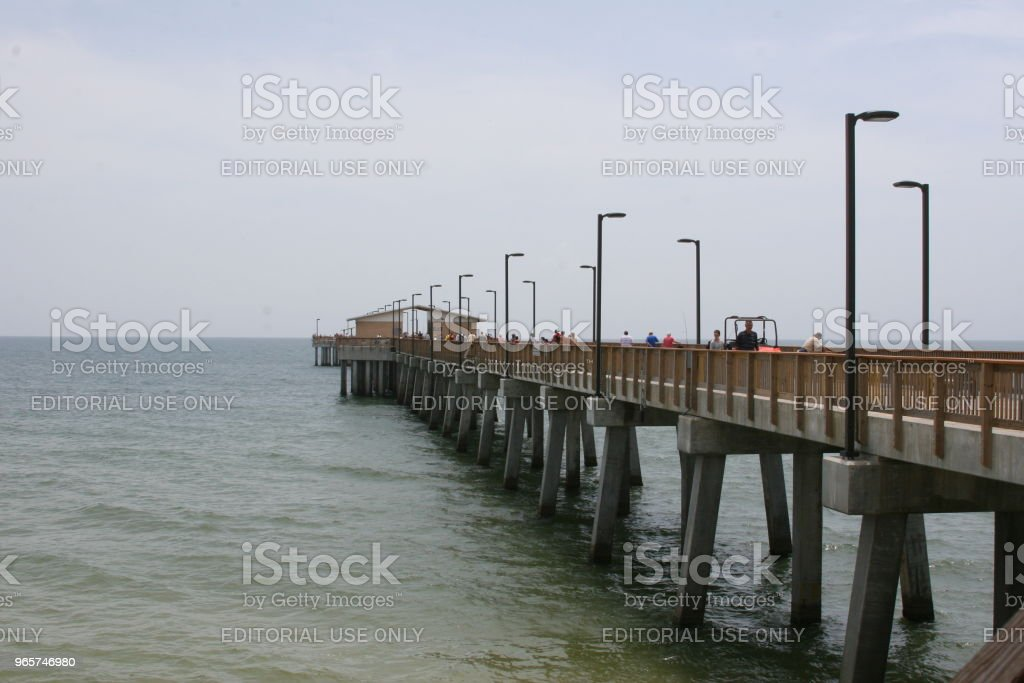 Gulf State Park Pier - Royalty-free Alabama Stockfoto