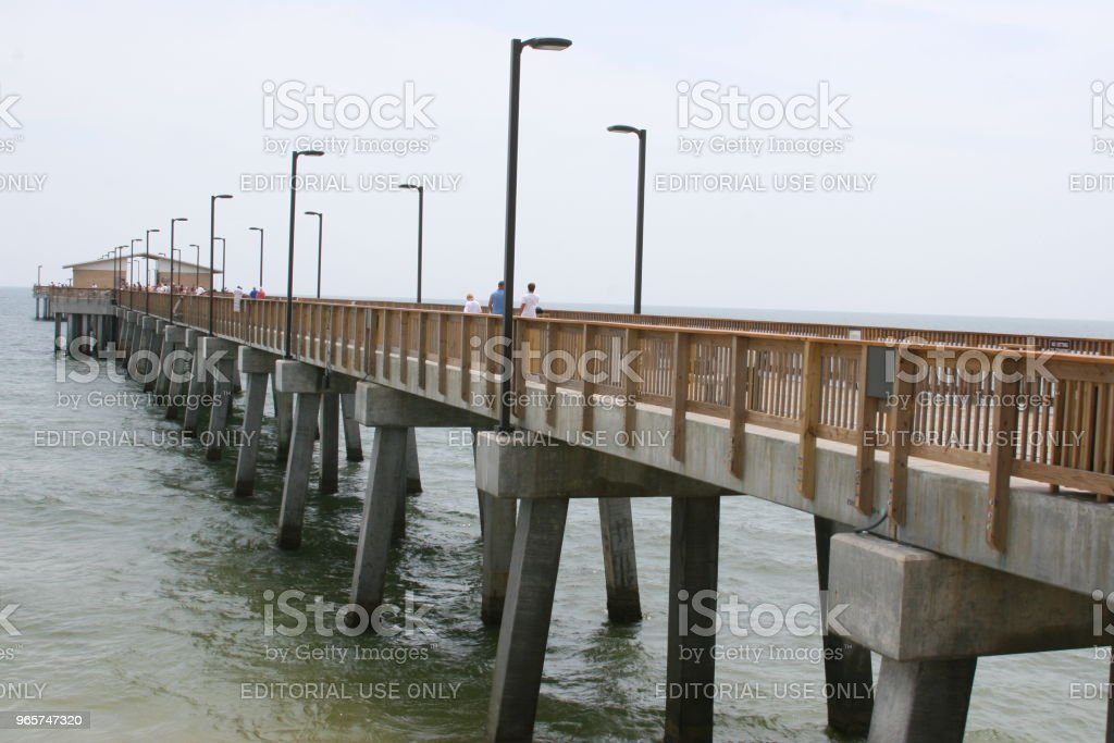 Gulf State Park Pier - Стоковые фото Gulf Coast States роялти-фри