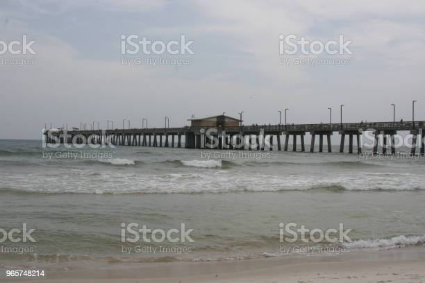 Gulf State Park Pier Stock Photo - Download Image Now