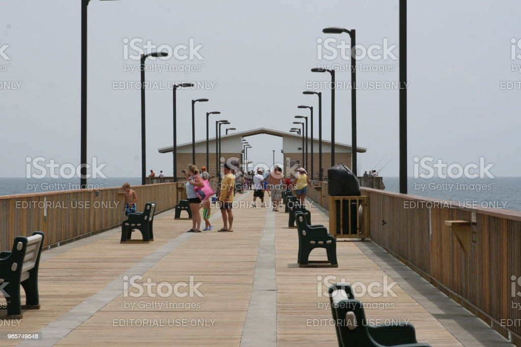 Gulf State Park Pier - Royalty-free Alabama Stockfoto