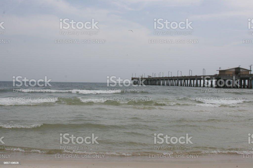 Gulf State Park Pier - Royalty-free Alabama - US State Stock Photo
