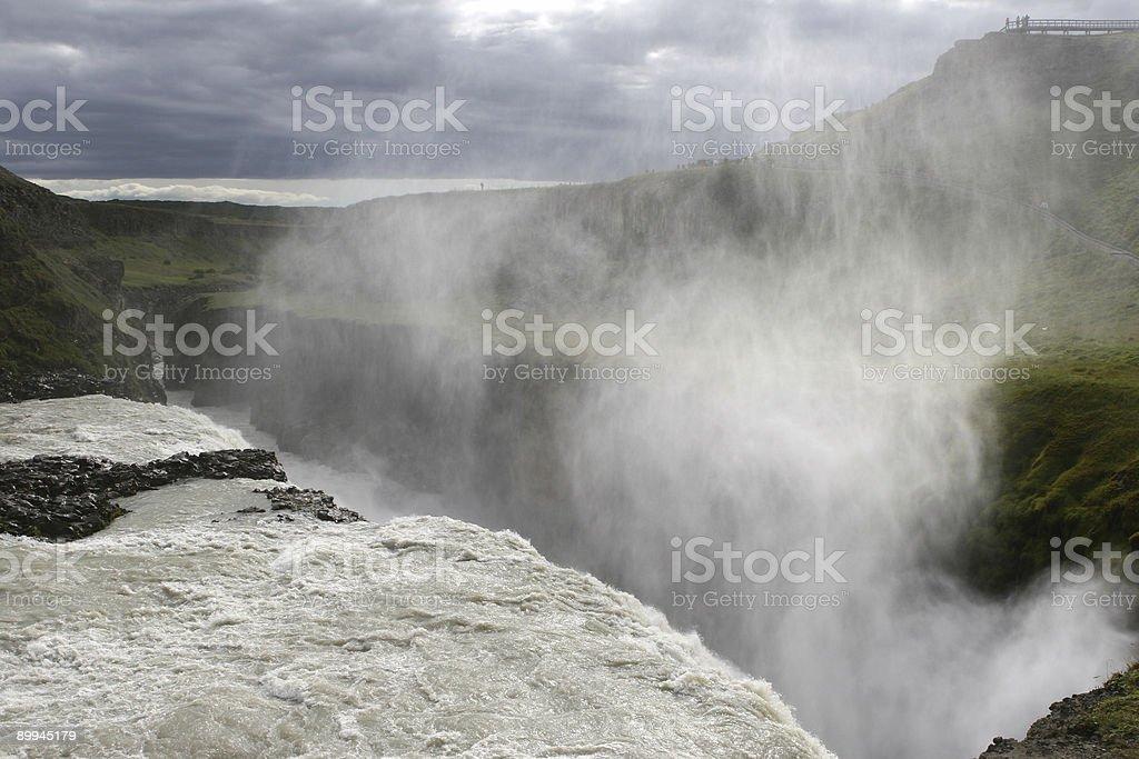 Gulfoss Waterfall, Iceland royalty-free stock photo