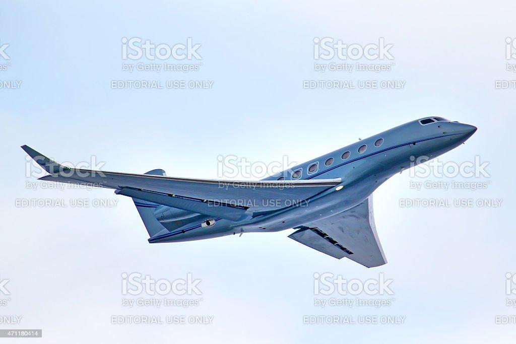 Gulfstream Aerospace G650 stock photo