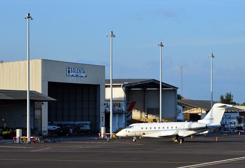 Gulfstream G280 at Abidjan Airport - Félix-Houphouët-Boigny International Airport, Abidjan, Ivory Coast