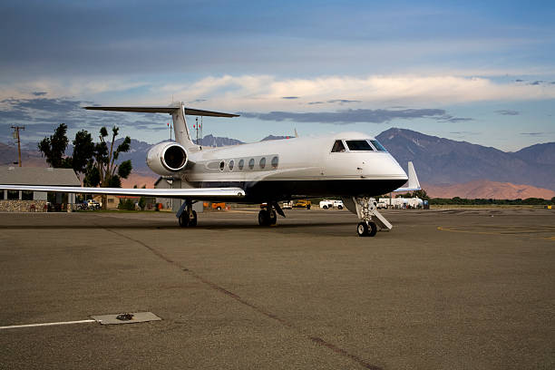 Gulfstream G-5 stock photo