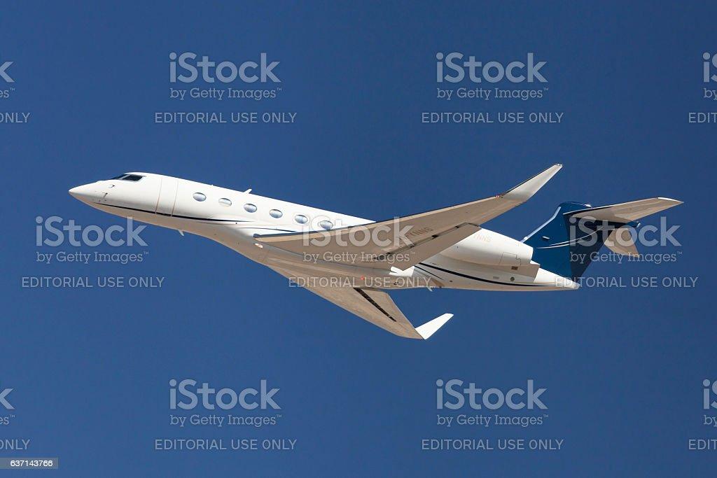 Gulfstream G650 stock photo
