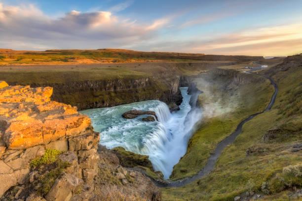 Gullfoss Wasserfall in Island – Foto