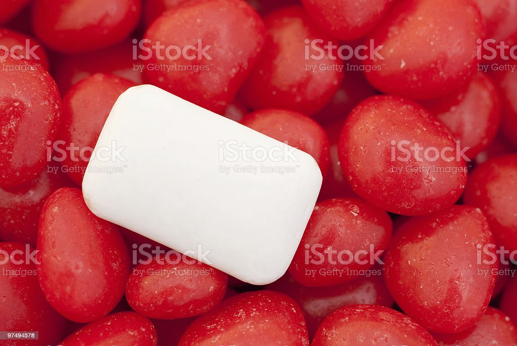 Gum and candy royalty-free stock photo