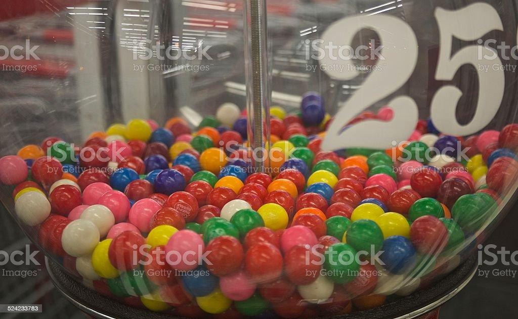 Gum Balls stock photo