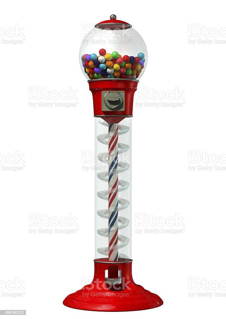 Gumball Dispensing Machine stock photo