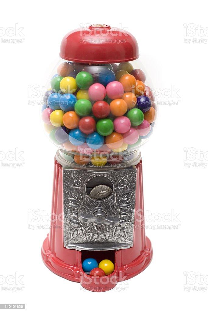GumBall Machine MultiColors stock photo